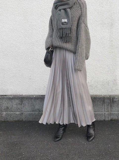Come indossare la gonna in inverno