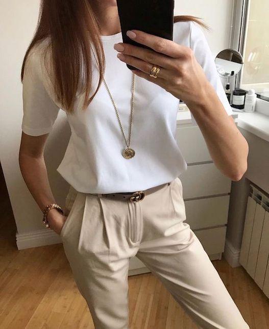 Come abbinare la t-shirt bianca