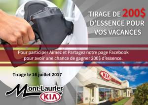 Concours Gagnez 200$ d'essence pour vos vacances!