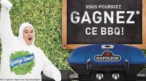 GAGNEZ UN DES 3 BBQ PORTATIF NAPOLEON AU CONCOURS