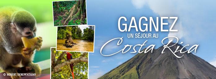 À GAGNER : UN SÉJOUR AU COSTA RICA