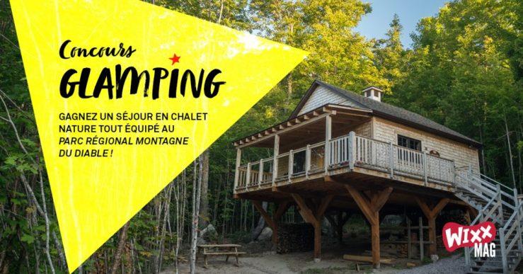 À gagner : Un séjour en chalet nature tout équipé au parc régional Montagne du Diable!