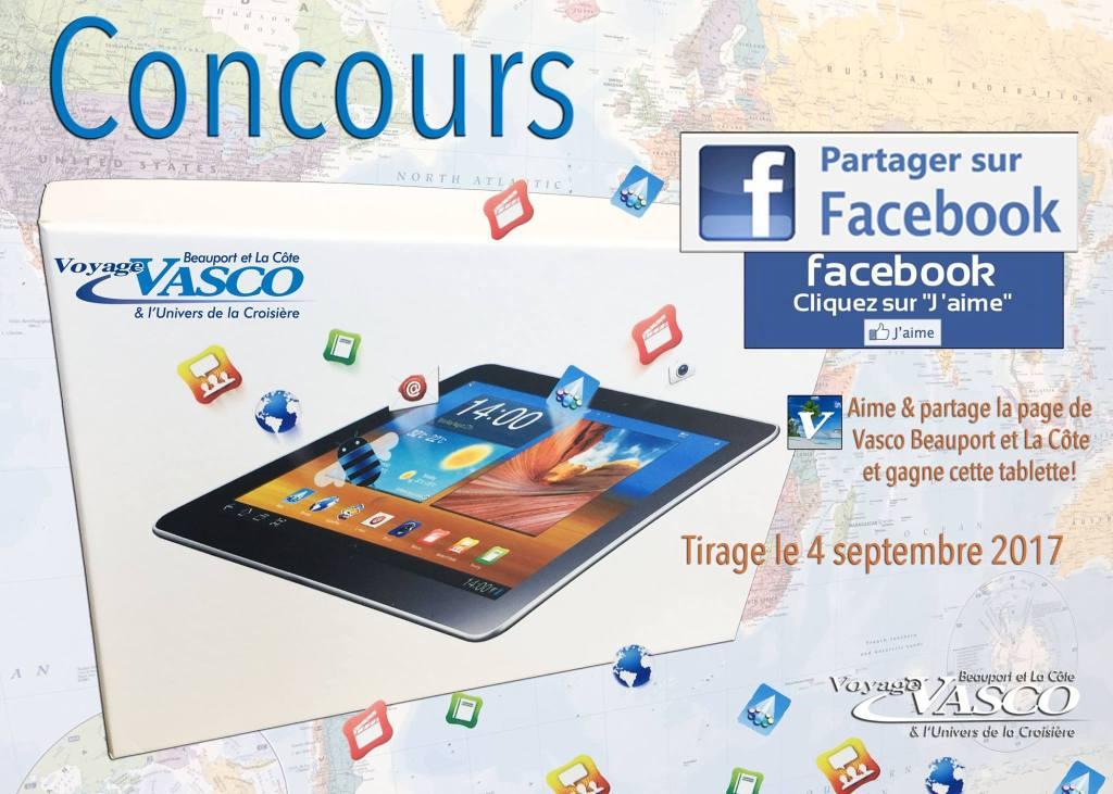 Concours - Gagner une tablette offert par Voyage Vasco