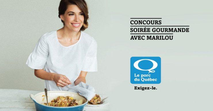 Concours | Gagner une soirée gourmande avec Marilou