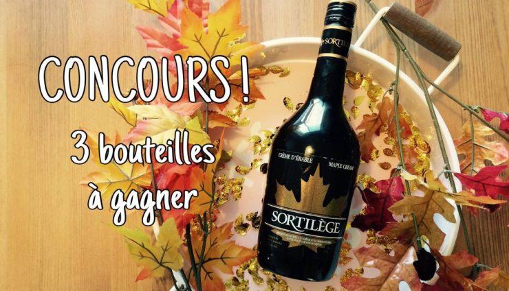 Concours | Courez la chance de remporter l'une de 3 bouteilles de Sortilège Crème d'Érable!