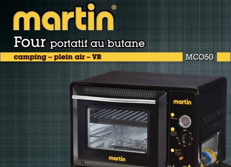 Concours - Gagner un four au butane Martin MCO50