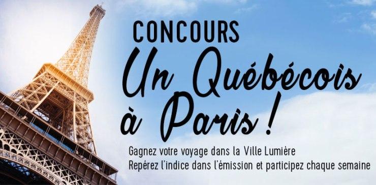 Concours - Gagner un voyage pour deux personnes à Paris