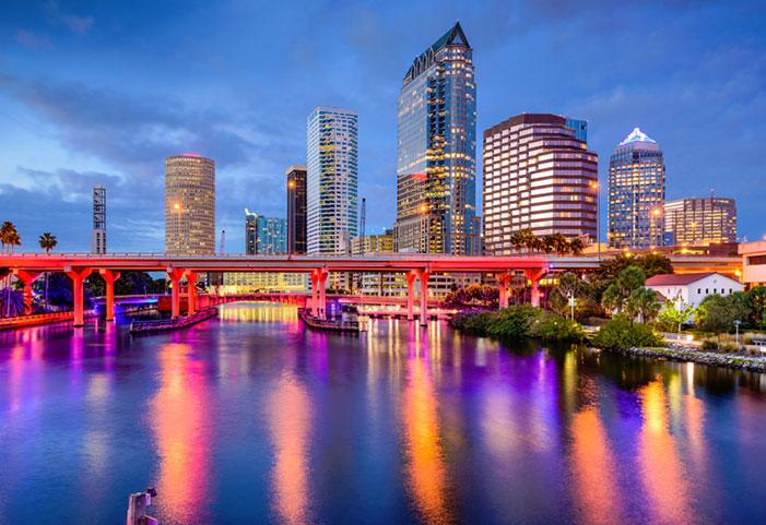 Concours - Gagner Voyage aller-retour pour 4 personnes à Tampa Bay en Floride