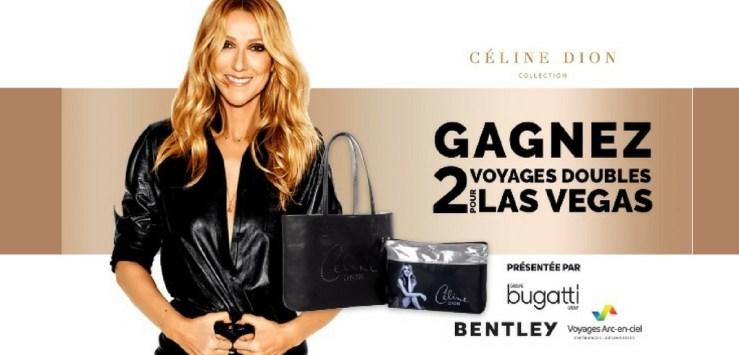 Concours Rythme FM Céline Dion - Gagner deux voyages à Las Vegas