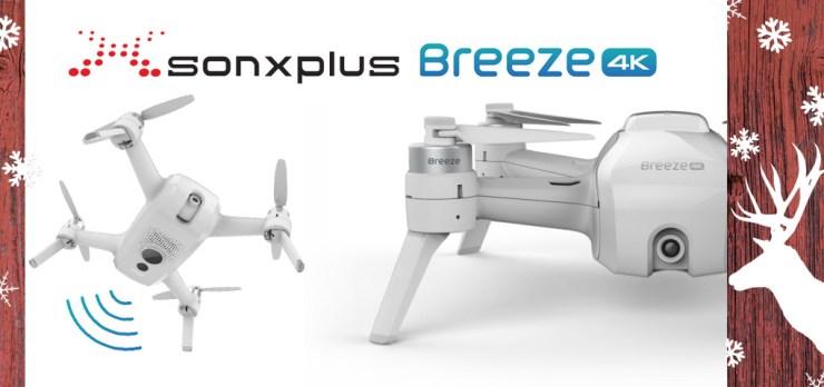 Gagnez un drone Yuneec qui filme en 4K grâce à SONXPLUS!
