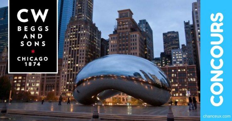 Concours CW Beggs and Sons - Gagnez un voyage à Chicago