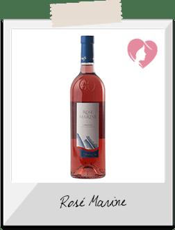 Vin Rosé - Rosé Marine AOC Languedoc rosé 2015 - Les Vignerons de Sérignan (Hérault)