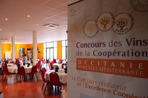 Concours des vins de la coopération Occitanie Pyrnées Méditerranée 2018