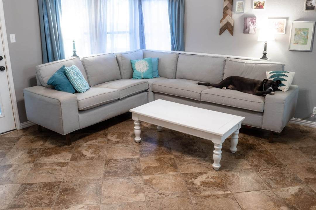 Adding Legs to A Sofa, Couch, Sectional, IKEA