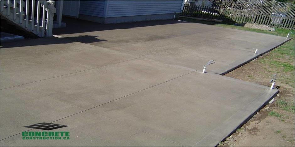 milton concrete patio contractor
