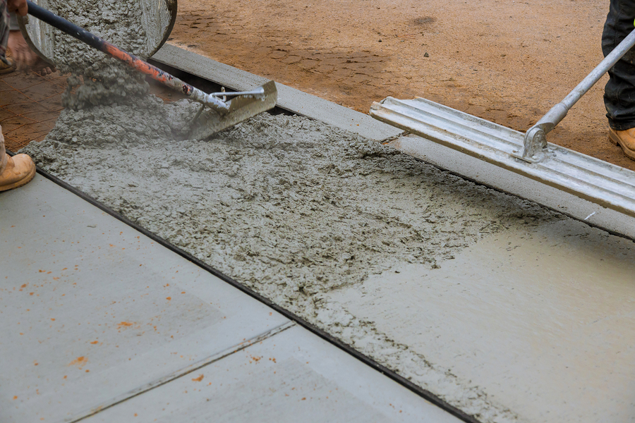 concrete contractor decorative
