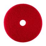 17 inch red buff pad