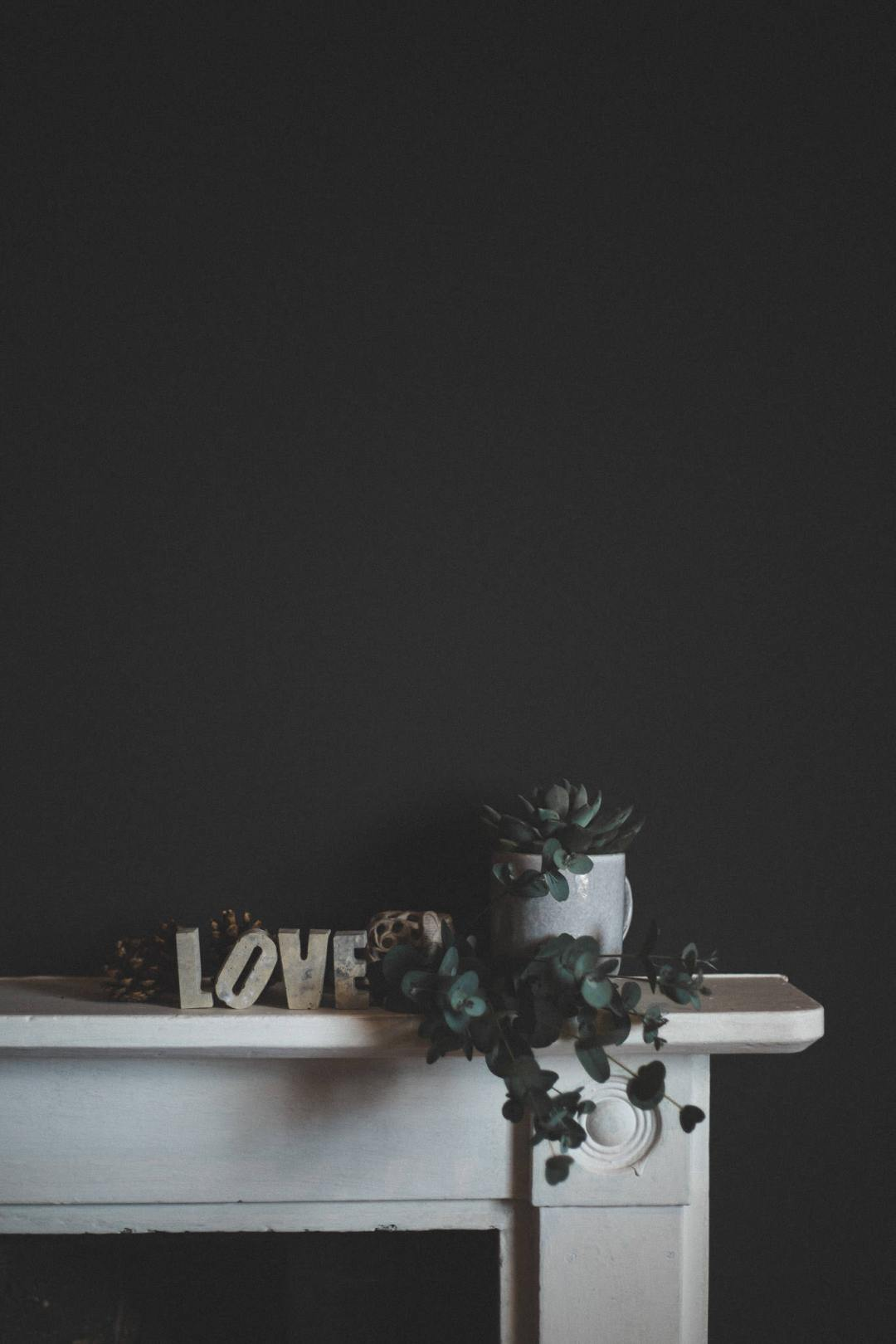 Concrete Letters - LOVE Valentines