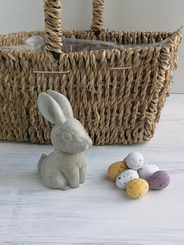 concrete Easter bunny photo 1