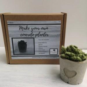Make your own concrete planter main photo