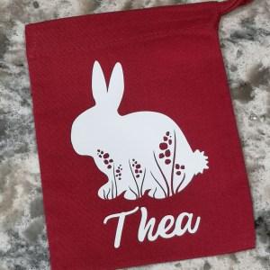 Personalised Rabbit Gift Bag main photo