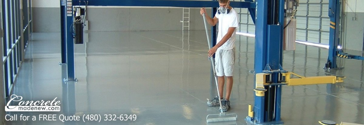 Commercial Epoxy Floor in Phoenix