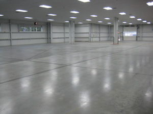 Anti-Slip Polished Concrete