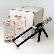 Concrete Mender 600ml cartridges and application tool.