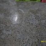 Polishing un-polishable Concrete