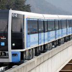 Concrete Mender on the Busan Metro Line 4