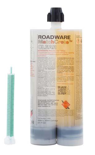 71300 Roadware MatchCrete Clear 600ml Cartridge.