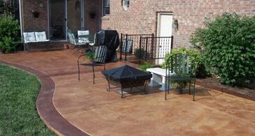 concrete patio maryland patio options