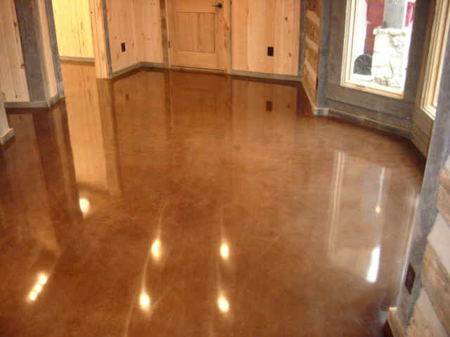 Residential Polished Concrete Stone Medic Polished