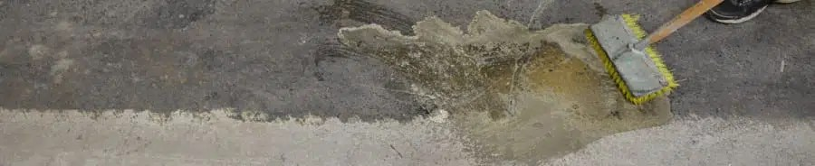 Concrete cleaning products | Concrete preparation systems. Concrete cleaner materials to prepare concrete for paint and overlay. Concrete acid wash and concrete chemical strippers.