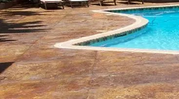 Outdoor Clear Concrete Sealer Systems. Concrete acrylic sealers for colored concrete. Stamped concrete sealer material. High performance silane and siloxane concrete acrylic floor coating sealers. Concrete sealer for a stamped concrete patio.