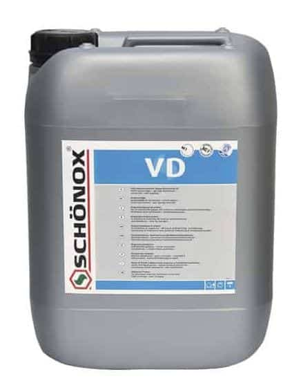 Schonox VD Primer for Self Leveling Systems. Universal primer for use under all self leveling material systems. Primer for cement self leveling products.