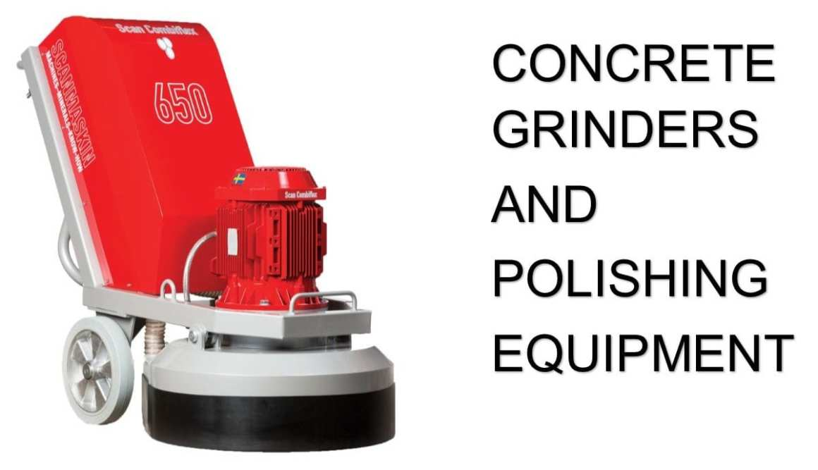 Concrete Grinders and Concrete Polishing Machines