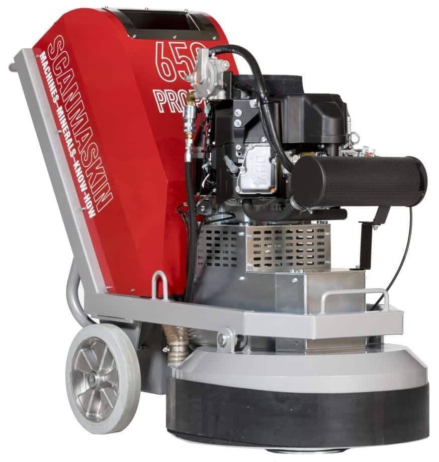 Scanmaskin Combiflex 650 Propane Concrete Grinder and Concrete Polishing Machine Powered by Propane