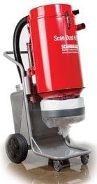 Scanmaskin Scan Dust 2900 Industrial Dust Collector Vacuum System 120 Volt Power