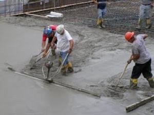 Power Screeding Concrete