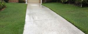 polished spalling concrete repair