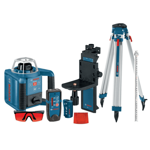 Bosch GRL300HVCK Self-Leveling Rotary Laser Review