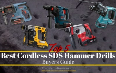 Best Cordless SDS Hammer Drills – 2020 Buyers Guide
