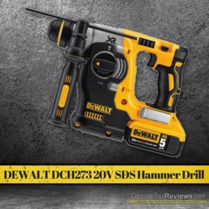 Best Cordless SDS Hammer Drills - Complete 2017 Buyers Guide