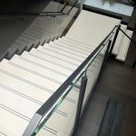 Abrasive Strips In Concrete Stair Treads Concreteworks East