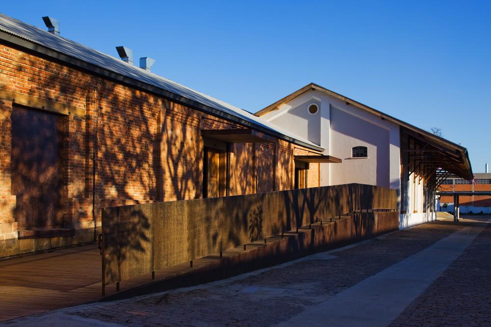 Edifício do auditório e prédio de exposições