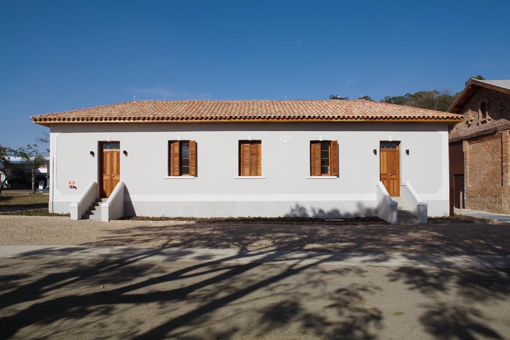 Antiga casa do chefe da estação