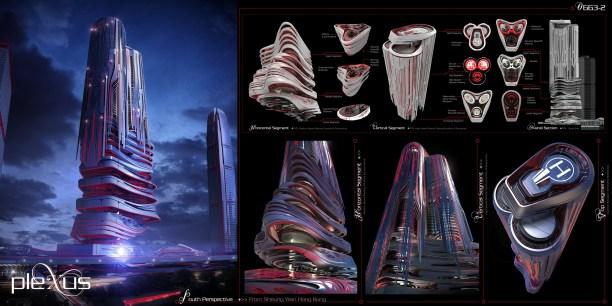 Concurso Skyscraper - M8 - Prancha 02