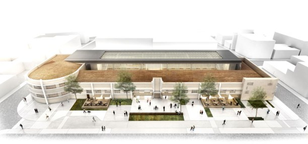 Concurso de Arquitetura - Mercado Público de Lages - 2º Lugar - Imagem 01