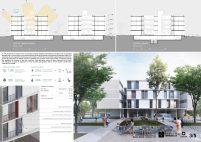Premiados – Edifícios de Uso Misto - Santa Maria – CODHAB-DF - Segundo Lugar - Prancha 03
